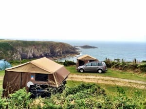 Caerfai Bay Caravan and Tent Park, St. David's