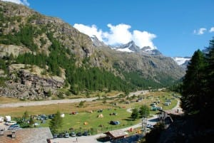 Camping Pont Breuil, Pont - Valsavarenche in Aosta